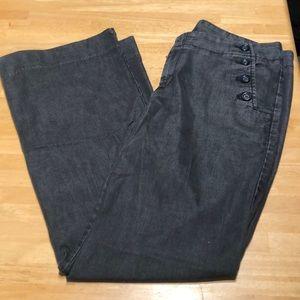 Gap Flare Jeans, Light Black